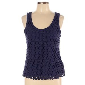 3/$20 J. CREW Tiered Dot Tank top